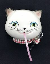 Holt Howard Cat String Dispenser Scissor Holder Wall Mount Ceramic Vintage 1958