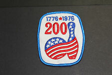VINTAGE Bicentennial Bowling Patch 1776-1976 - 200 Game Patch