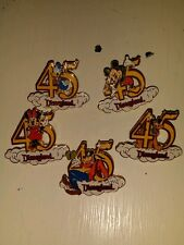Disneyland 45th Anniversary 5 Piece Collector Pin Set