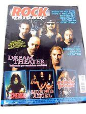 ROCK BRIGADE Magazine 2003 December Portuguese Dream Theater Morbid Angel Wylde