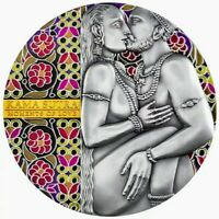 2019 Cameroon KAMA SUTRA Moments of Love 3oz High Relief Silver Coin - Box & COA