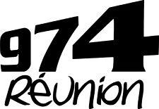 Sticker 974 Reunion 30x20cm