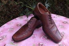 5d0079c9543 MEN`S FLUCHOS SHOCK ABSORBER BROWN LEATHER LACE UP FORMAL SHOES SIZE 40 UK  6.5