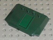 Capot LEGO Dkgreen wedge ref 52031 / Set 7930 Bounty Hunter Assault Gunship
