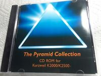 Native Kurzweil Cd-Rom ~ The Pyramid Collection ~ VAST Programs K2000/K2500!!!