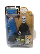 Family Guy action figures Series 2 Death With Skull and Death Dog. NIB
