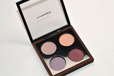 MAC Temperature Rising Eye Shadow Quad Palette Gold Mauve Peach Black NEW 4X
