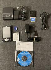 Hewlett Packard iPaq 214 PDA Handheld - WM 6.5 Windows Mobile mit Zubehör / GPS