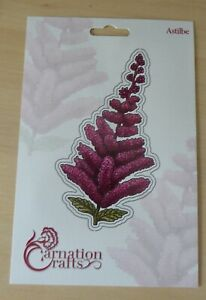 """""""ASTILBE"""" A FLOWER DIE FROM CARNATION CRAFTS - FREE CHARISMA DOWNLOAD"""