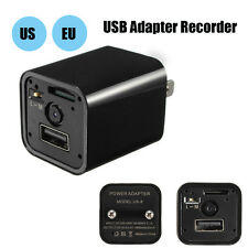 Full HD1080P IP Hidden Camera Camcoder DV USB Wall Adapter US Plug Charger DVR