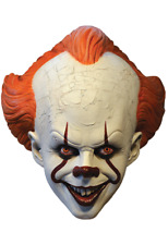 Trick or Treat IT Pennywise Clown Standard Mask Adult Halloween Costume MBWB101
