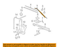 GM OEM Wiper Washer-Windshield-Wiper Arm Left 15761497