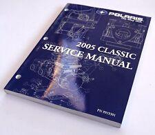 POLARIS USED SNOWMOBILE SERVICE MANUAL 2005 CLASSIC W/CD 9919301