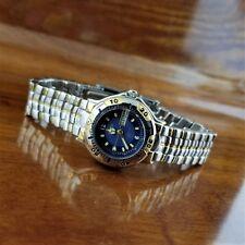 New Vintage Womens Gruen Gold & Silver 6000 Sport Watch Day & Date