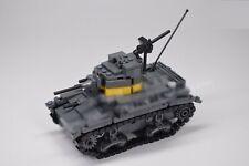 WWII US British M2 light tank M2A4 World War 2 II WW2 USA Army MOC UK American
