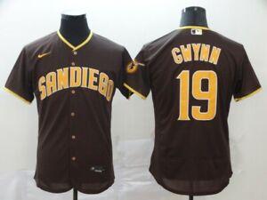 Men's Padres 19 Tony Gwynn 2020 Flex base Jersey Stitched