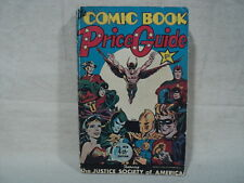 Overstreet Comic Book Price Guide #4 Softcover 1974 Justice Society JSA (T 2383)