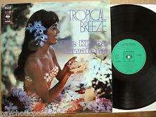 "KILIMA HAWAIIANS  – Tropical Breeze  LP  CBS – S 52685  Great ""South-Sea""-Music"