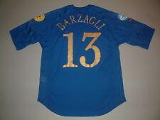 BARZAGLI ITALIA HOME MC-SS MATCH ISSUED EURO 2004 CHAMPIONSHIP UNDER 21