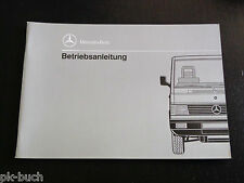 Betriebsanleitung Handbuch Mercedes MB 100 D Transporter Stand 6/1989