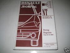 Wiring Diagram Schaltpläne Renault Megane Scenic from 16-10-2000