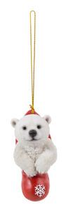 Vivid Arts - Hanging Christmas Stocking Pet Pals - Polar bear - Decoration