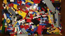 Huge Lot of 400+ Random Lego Pieces Bricks  Parts Mix Colors +2 FIGURES