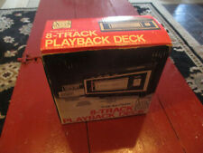 New ListingRealistic 8 Track Player Tr-169 New Old Stock, never unpackaged As Is untested