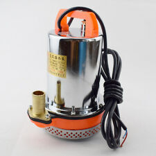 12V Farm Ranch Solar Powered Submersible DC Water Well Pump 23FT Lift Practical