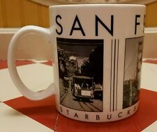 Starbucks Coffee City Scenes San Francisco Mug Barista Tea Cup SF San Fran Cali!