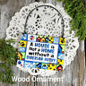 DECO Mini Sign Siberian Husky DOG Wood Ornament We have ALL DOG BREEDS MIXES