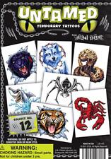 250 Animal Tattoos In 1 11 Acorn Capsules Bulk Vending Machine Toys