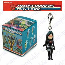 Kidrobot Transformers Vs G.I Joe Vinyl Figure Keychain Series Baroness 2/24