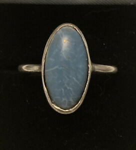 Antique Ruskin Arts & Crafts Ring Silver