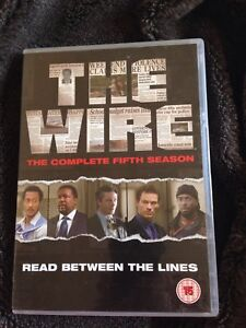 The Wire the complete 5th season disc one missing so is a 3 disc set