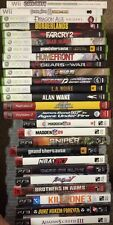 PS3, Xbox 360, Wii & Ps2 Games (Any 4 For $40)