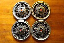 """1974 Ford Ranchero 14"""" Wire Spoke Hub Caps Torino Granada Maverick 75 76 77"""
