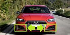 Neuf Véritable Audi S5 2017-2018 Set Pare Choc avant Bas Gauche et Droite Grille