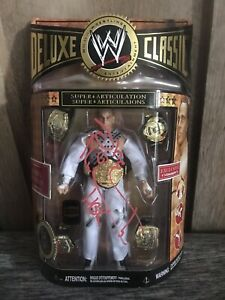 Autographed Shawn Michaels HBK WWF WWE Deluxe Classic Profigures Exclusive