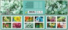 france 2019 booklet hatching flower ROSE DAHLIA SAGE HYDRANGEA TOURNESOL 12v mnh