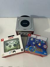 Nintendo Game Cube Platinum Limited Edition Console with 2 NEW USB Controllers
