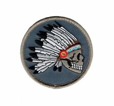 Indian Chief Feathered Decorations Native American Iron on 3.0 Inch Patch (MTN1)