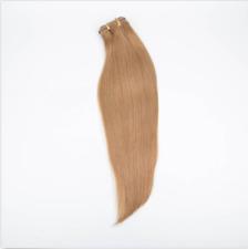 3/4Half Wig 100% Indian Remy Human Hair Half Wig Straight Hair Machine Weft Cap