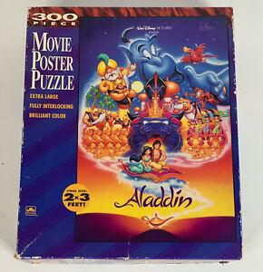 Aladdin: Walt Disney 300 Piece Movie Poster Puzzle 2' x 3' Large Pieces