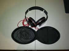 Beats By Dr. Dre StudIo Over-the-Ear Headphones Monster Black Red With Pouch