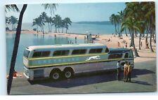 *Vintage Greyhound Advertising Postcard Super Scenicruiser 43 Passenger Bus B71