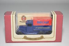! OXFORD DIECAST CHEVROLET PICK UP TRUCK THE DIECAST COLLECTOR 1ST MINT BOXED
