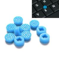 10* Rubber Mouse Pointer TrackPoint Blue Cap For HP H0W0 Laptop Toshiba Del K7S8
