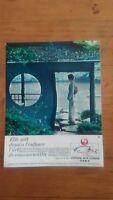 PUB ANCIENNE - PUB ADVERT JAPAN AIR LINE années 60