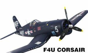 Dynam F4U Corsair EPO 1270mm RTF V2 Komplett Set Warbird Brushless LiPo RC